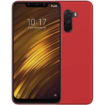 TBOC® Funda de Gel TPU Roja para Xiaomi Pocophone F1: Amazon.es ...