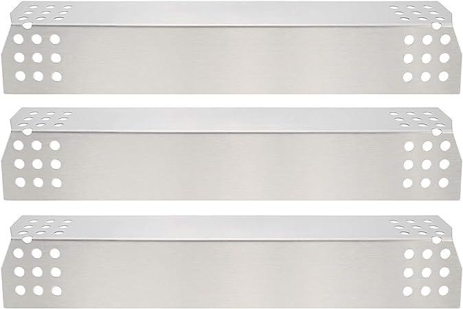 GFTIME 97371placa Calor 36.98 x 8.57cm Repuestos de Placa de Calor de Acero Inoxidable para Nexgrill 720-0783E 720-0830H 720-0896 720-0896B 720-0898 ...