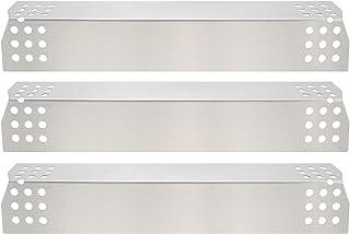 GFTIME 97371 Gas BBQ 36.98 x 8.57cm Repuestos de Placa de Calor de Acero Inoxidable para Nexgrill 720-0783E 720-0830H 720-0896 720-0896B 720-0898 720 0896C, Grillmaster 720-0697 BBQ Grill (3pack)
