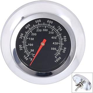 qiorange Termometro da forno in acciaio inox Termometro per Barbecue Grill Affumicatore Termometro