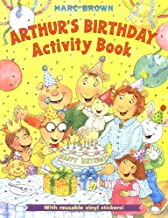 Arthur's Birthday Activity Book : With Reusable Vinyl Stickers!
