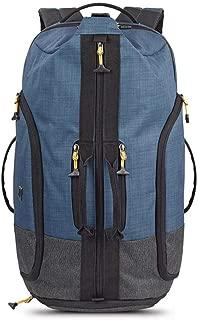Solo Weekender Backpack Duffel, Blue/Grey