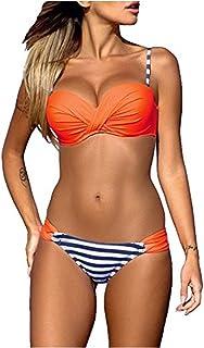 site réputé 9eca6 cee69 Amazon.fr : Pois - Orange / Maillots de bain / Femme : Vêtements