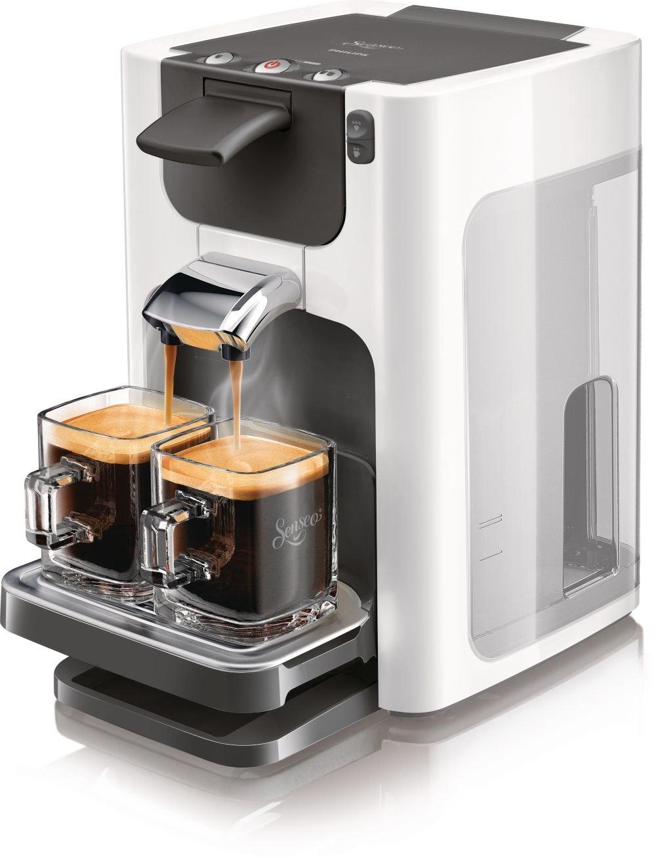 Philips HD7864/11 Senseo Quadrante - Cafetera de espresso, color blanco y titanio: Amazon.es: Hogar