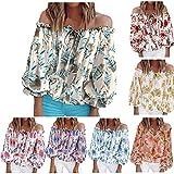 MJKK Women's Off Shoulder Tops T-Shirts Casual Short/Long Sleeve Boat Neck Blouse Loose Tunics Navy Blue Cold Shoulder Tops for Womens v Neck Cold Shoulder Dress Boho Cold Shoulder(#1-Green,L)