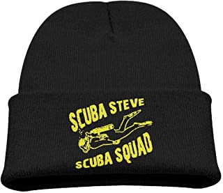 ADGoods Kids Children Scuba Steve Scuba Squad Beanie Hat Knitted Beanie Knit Beanie For Boys Girls Gorra de béisbol para n...
