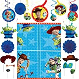 Party City Toy Story 4 Decorating Party Supplies, 37 Pieces, Includes Hanging Decorations, Scene Setter, and Photo Props