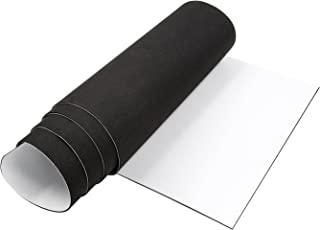 Adhesive Weather Stripping, Closed Cell Foam Seal Self Adhesive Foam Padding Roll Non-Slip Insulation Rubber Sheet 1/16 Inch Thick X 12 Inch Wide X 59 Inch Long