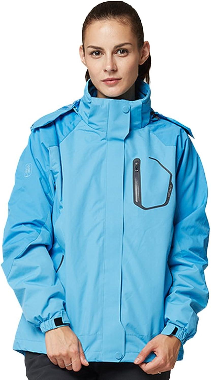 Insun Men's Winter Outdoor Windbreaker Waterproof Sport Hoodie Jacket
