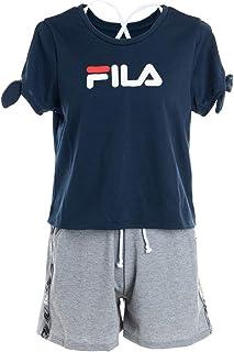 平凡不公平医療過誤FILA フィラ レディース 水着 袖リボンTシャツ4点セット7号nvy