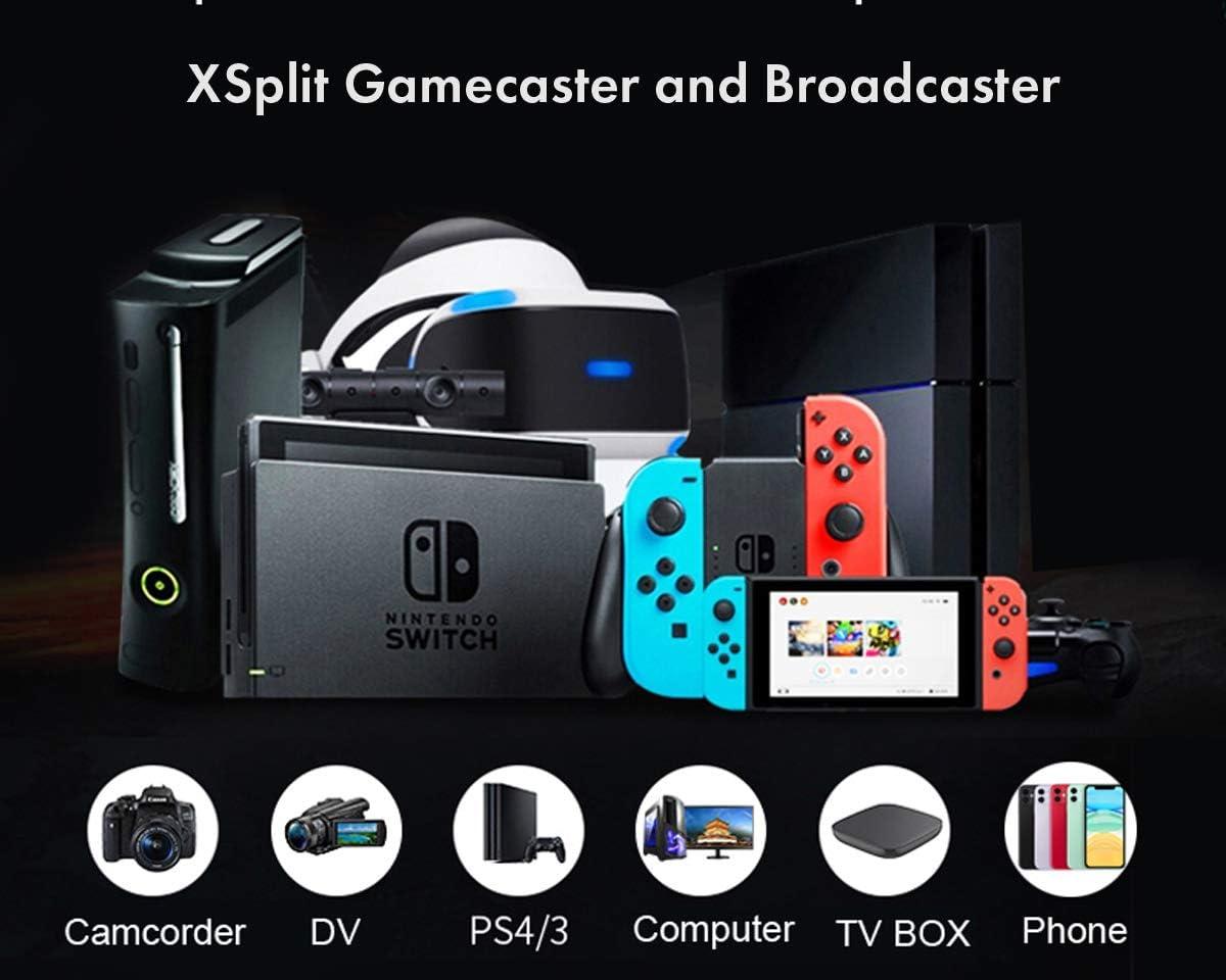 XSplit OBS VLC Amcap Xbox One Spielerekorder PS4 ElecGear ...