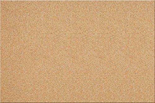 "The Board Dudes 24""x36"" Canvas Cork Bulletin Board (CYL43)"