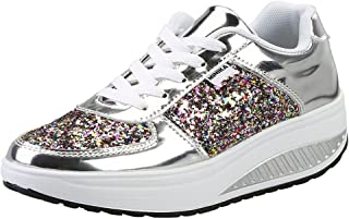 f4f32dc8698 Amazon.ca  Silver - Fashion Sneakers   Women  Shoes   Handbags