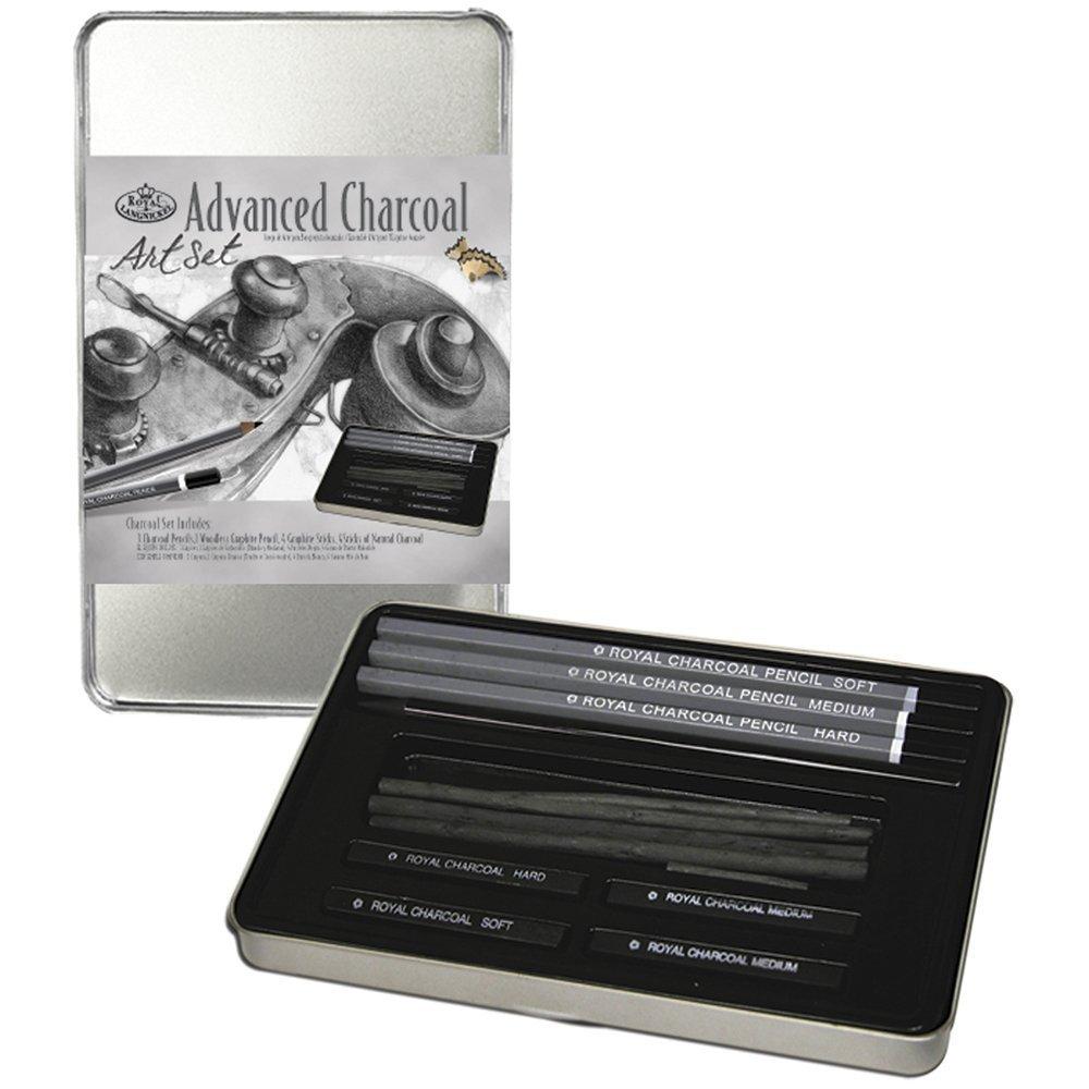 Royal Langnickel RSET ART2503 Charcoal Drawing