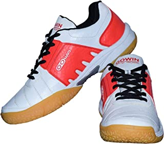 Gowin Power White/Red Badminton Shoes