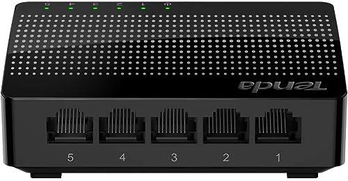 Tenda 5-Port Gigabit Ethernet Desktop Switch (SG105)