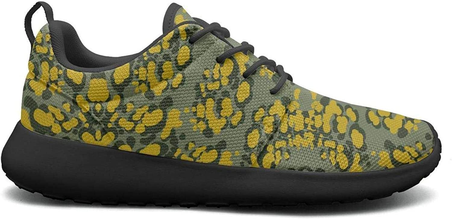 Wuixkas Camo Camouflage Flower Womens Lightweight Mesh Sneakers Comfortable Sports shoes