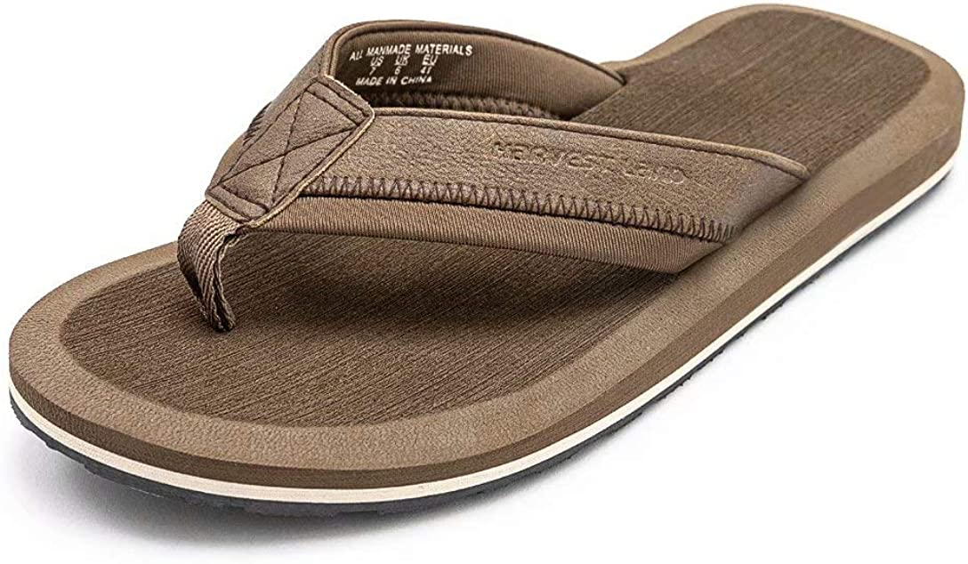 Mens Thong Import Sandals Beach Pool Flip Suppo Manufacturer direct delivery Comfy Arch Flops Adults