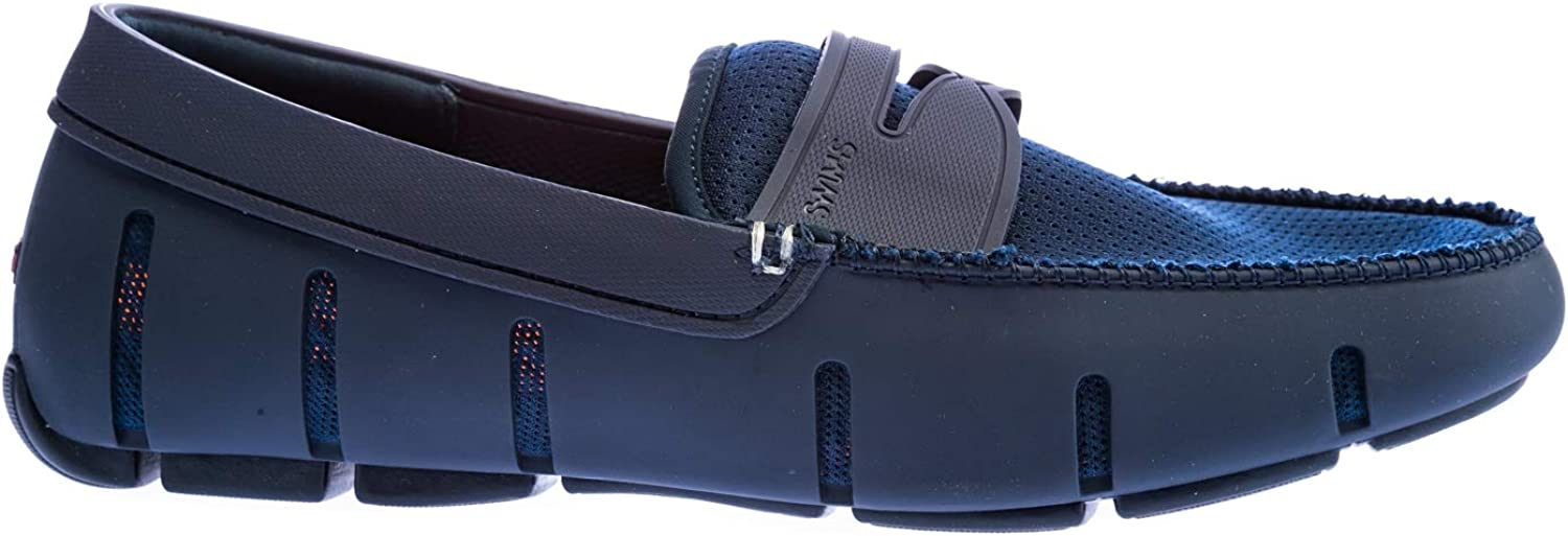 Swims Penny Loafer Shoe in Navy