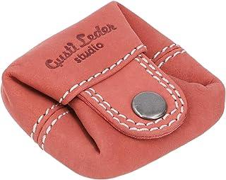 Gusti portamonete in pelle - Linus borsellino da uomo e da donna portamonete piccolo rosso