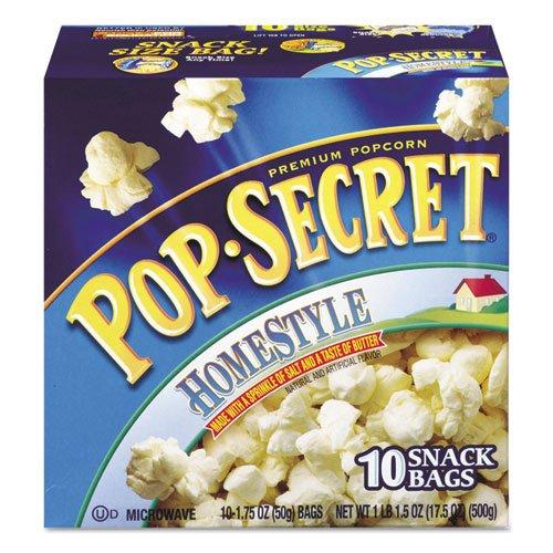 100% quality warranty! Pop Secret - Microwave Popcorn Homestyle Bags oz 1.2 Charlotte Mall Box 2 10