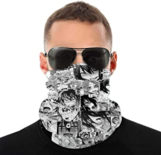 BS2U 3D Cartoon Bandana Neck Gaiter Face Scarf Headwrap Balaclava