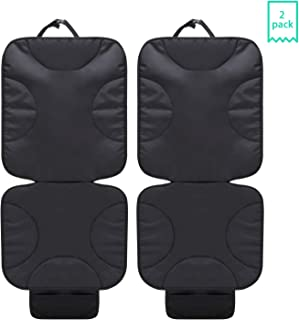 2 Pack Car Seat Protector Thick Protection for Child Baby Cars Seats, Dog Mat Durable Cover Protects Automotive Vehicle Leather or Cloth Uphols