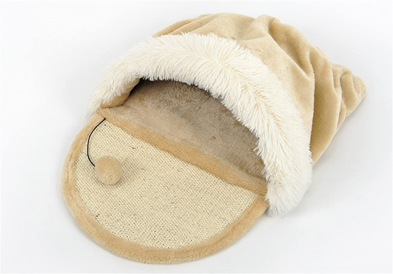 AIDELAI Cat Litter Kennel Cat Dog House Sleeping Bag Pet Bed Mat Autumn And Winter Keep Warm Comfortable Soft