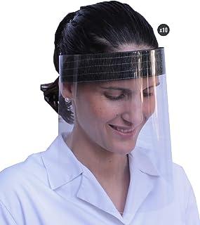 KMINA - Pantalla Protección Facial Transparente (Pack x10 u