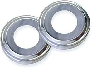 Swimline 87904 Stainless Steel Escutcheons for Pool Handrail(Pack of 2)