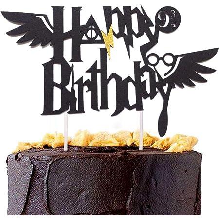 JeVenis - Topper per torta di compleanno a tema per ragazzi, decorazioni per feste di compleanno