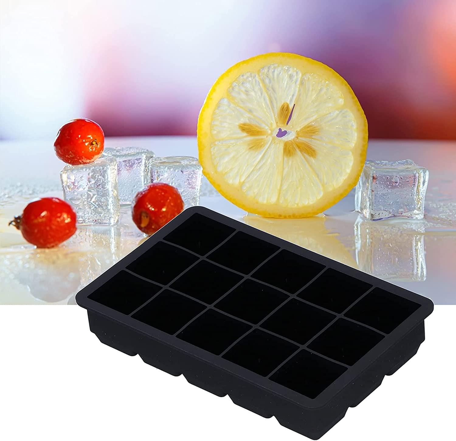 Gorgeous Ice Tray Easy To Demold Surface Non‑stick with Animer and price revision Cubes