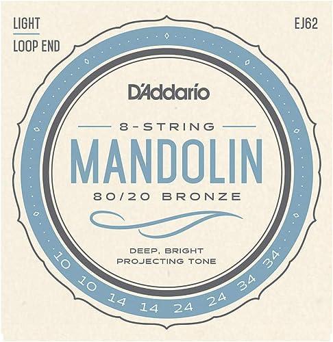 D'Addario EJ62 Cordes pour Mandoline