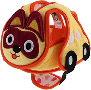 Blesiya Toddler Plush Safety Helmet Baby Child Walking Crawling Headguard Hat Head Protective Harnesses Cap - Cat, as described