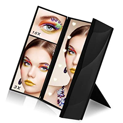 Makeup Mirror, Sanvaree Portable Vanity Mirror ...