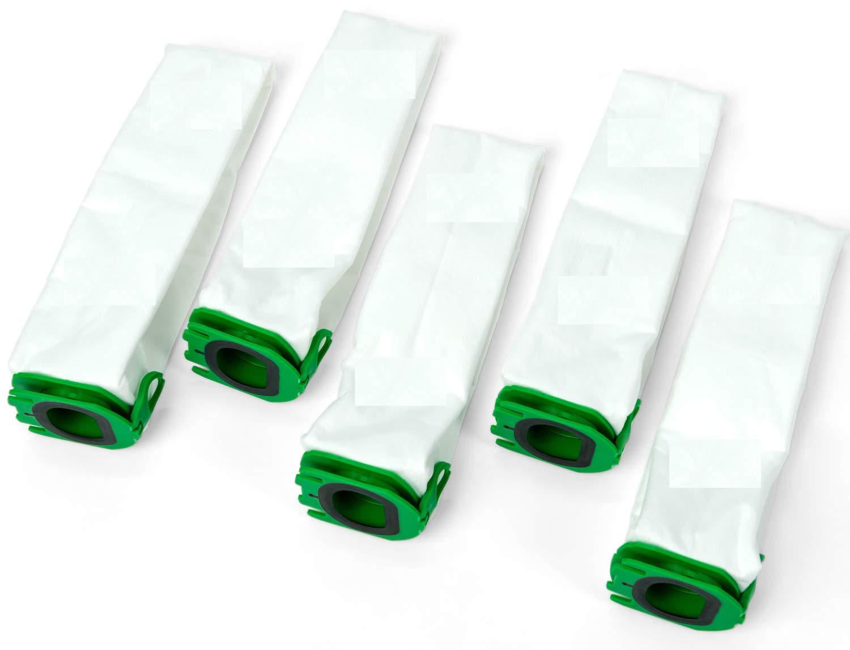 Cleanwizzard - Juego de 5 bolsas de aspiradora para Vorwerk Kobold VB100: Amazon.es: Hogar