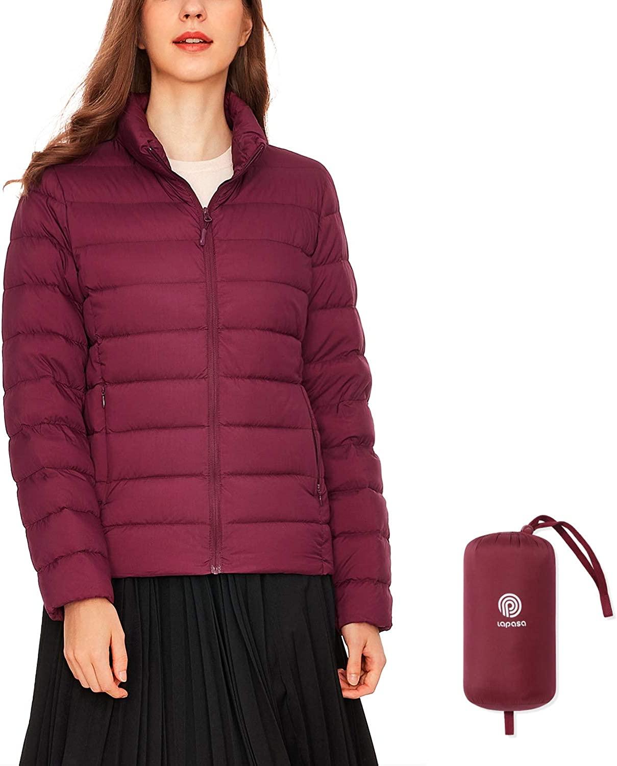 LAPASA Women's Be super welcome Lightweight Down Max 56% OFF Breathabl Water-Resistant Jacket