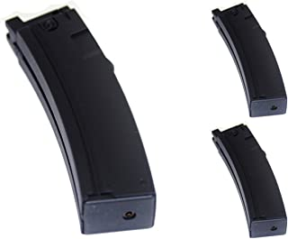 Airsoft Shooting Gear WELL 3pcs 22rd Mag Short Type Magazine for MP5K G55 Series GBB SMG