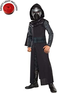 Star Wars Force Awakesn Kylo Ren Classic Costume Kit with Safety Light - Kids M