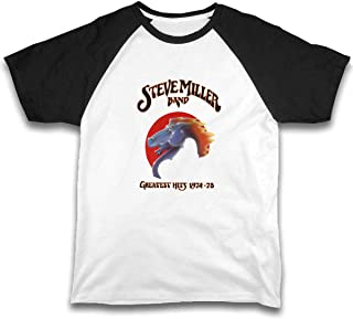 Kid T Shirt Steve Miller Band 3D Tee Baseball Short Sleeve Cotton Shirts Top for Boys Girls Kids