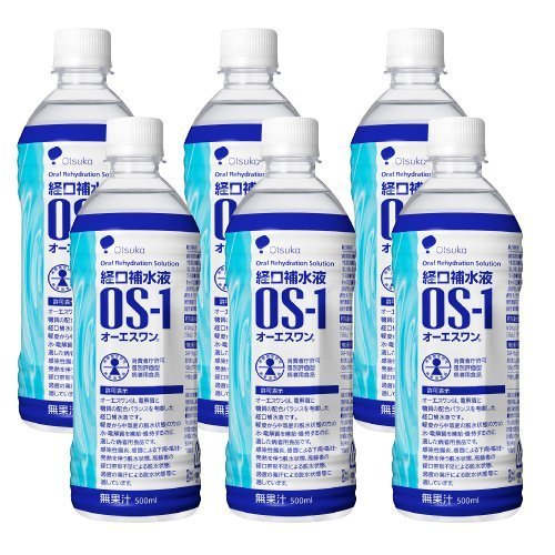 経口補水液 OS-1 オーエスワン 500ml × 6本