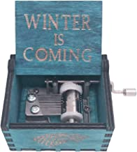 Best hand crank music box game of thrones Reviews