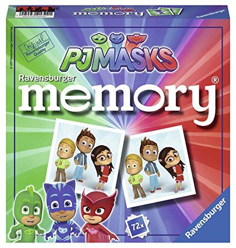 Ravensburger- Grand memory®- Pyjamasques- Jeu Educatif- A partir de 4 ans- 21322