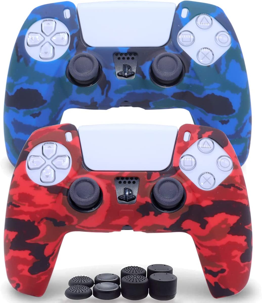 Sofunii 2 Pack Silicone Controller Skins Cover National products Anti-Slip Camo Ca Alternative dealer