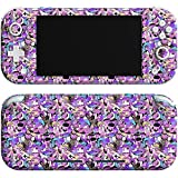 Lex Altern Skin Decal Compatible with Switch Lite 2019 Console Vinyl Witchy Game Mushrooms Wrap Trippy Cover Purple Protective Controller Mystical Forest Fern Full Body Sticker nlh009