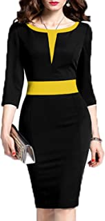 yellow and black outfits for ladies