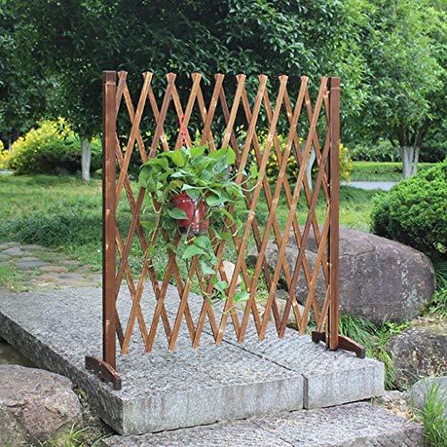 L.TSA Holzzaun Gartenzaun Dekorative Teleskop-Kletterpflanze hilft Spalier Pet Kinderzimmer Zaun.
