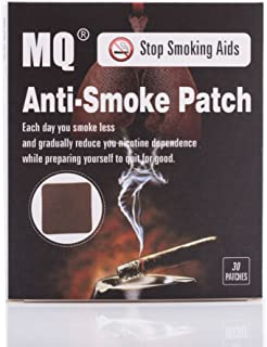 MQ Stop Smoking Patches Natural Ingredient Stop Smoking Anti Smoke Patch Quit Smoke Cessation Health No Side Effect(30pcs/...
