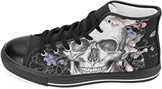 Women's High Top Classic Casual Canvas Fashion Shoes Trainers Lace Up Sneakers
