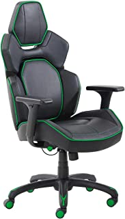 True Wellness - 3D Insight Multi-Directional Movement Gaming Chair, Green (Supports up to 275 lbs) Assembly Required